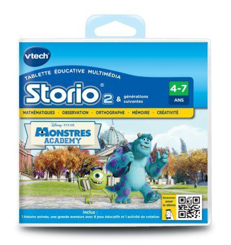 Vtech – 231905 – Storio 2 et générations suivantes – Jeu éducatif – Monstres Academy | Your #1 Source for Toys and Games