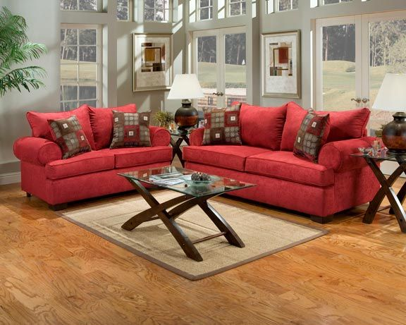 17 best images about red living room on pinterest grey - Living room color schemes red couch ...