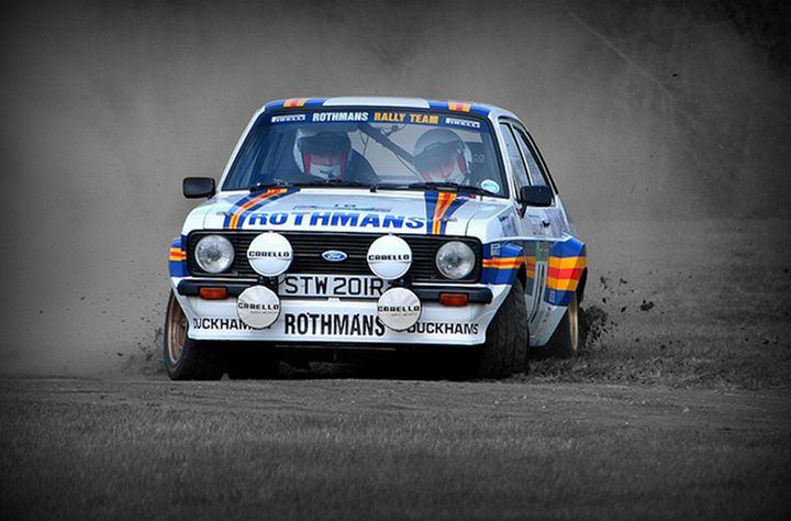 Ford Escort rallying