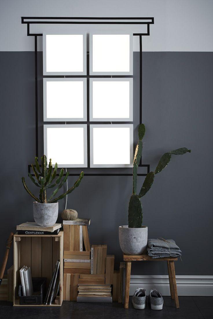 Ikea smart lighting collection - dimbare verlichting panelen