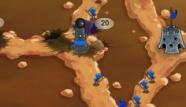 DEMAZE.IT - Giochi Online - Teen & Kids Games: Gli insetti esistono in diverse forme e dimensioni ed hanno una cosa in comune, sono guerrieri spietati. Scegli la tua razza, forma un esercito potente per dominare sugli altri. Distruggi le loro colonie, o loro distruggeranno le tue.