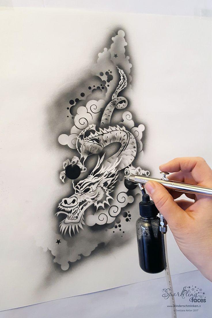 1000 ideas about airbrush tattoo on pinterest tattoo for Airbrush tattoo paint