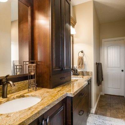 Master Bathroom Dark Cabinets 19 best bathroom designs images on pinterest | bathroom designs