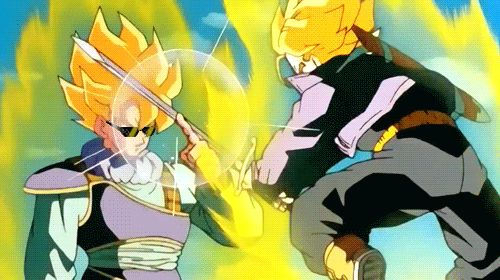 Goku vs Trunks. Deal with it.