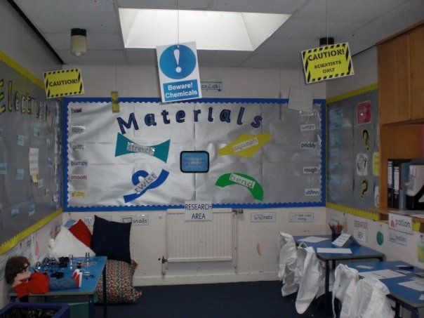 Science lab role-play area classroom display photo - Photo gallery - SparkleBox