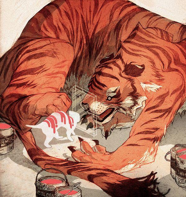 Works by SACHIN TENG, via Behance ★ || #animation #anime #comics || ★
