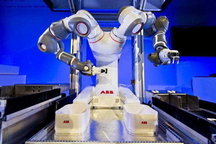 ABB Reveals YuMi, the future of human-robot collaboration