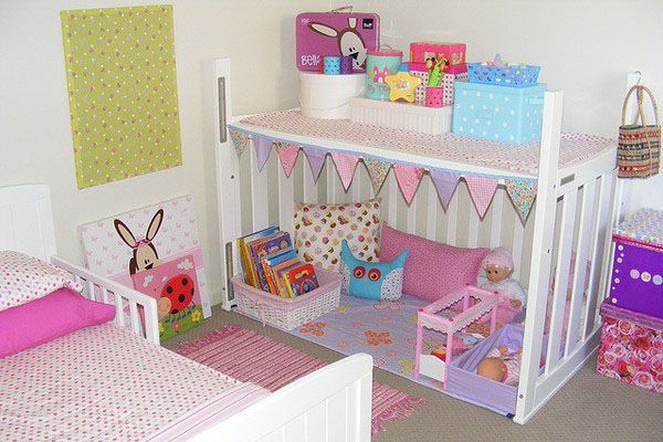 Reuse crib...and decorate according to child.