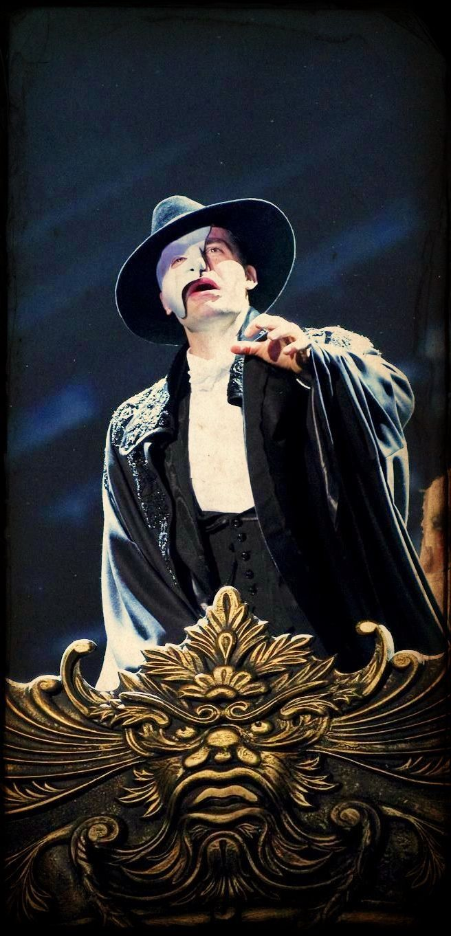 Ramin Karimloo...my favorite Phantom of the Opera ever.