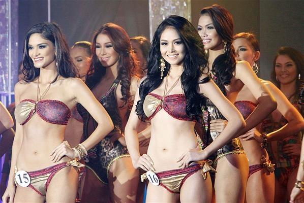 Seksinya Kontestan Miss Filipina 2013