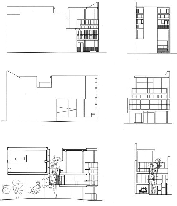 Maison Curutchet à La Plata par Le Corbusier