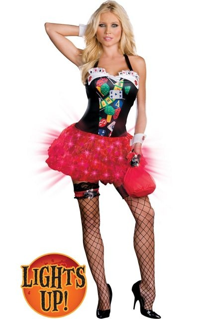 adult vegas baby lightup costume funny costumes womens costumes halloween