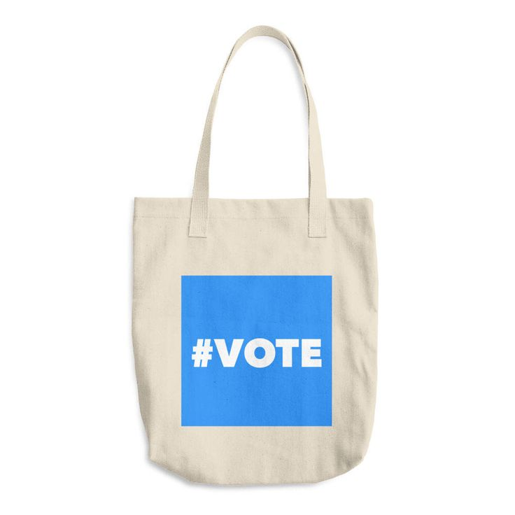 Excited to share the latest addition to my #etsy shop: Vote Tote Bag / Made In USA Voter Registration Tote / Reusable bag / Mid-Term Tote / Reusable Shopping Bag / Canvas Bag / Blue Wave Tote Bag #bagsandpurses #vote2018 #youthregistration #2018midterms #youthvote #vote #bluewave