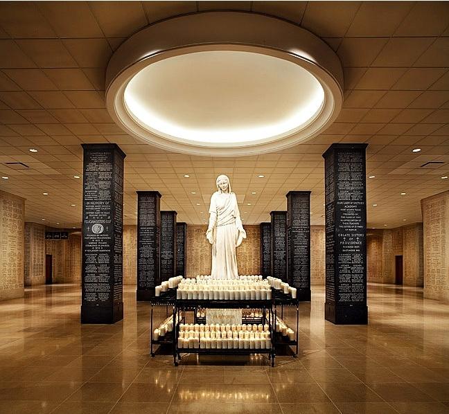 Afc Floor Plan >> Mary, Mother of Mankind. Memorial Hall, National Shrine, Washington DC. | Catholic⛪Basillicas ...