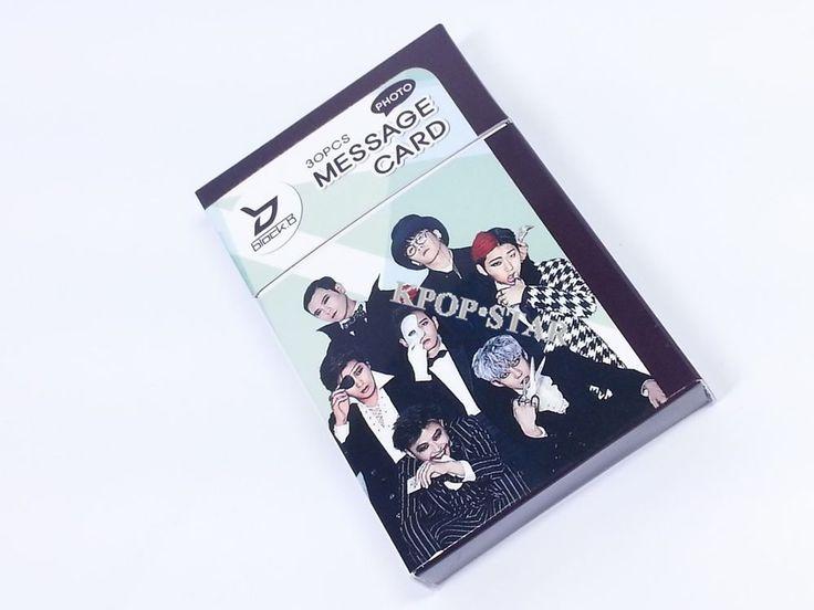 BLOCK B BlockB Photo Message Card ( 30 Piece ) KPOP K-POP Korean K Pop