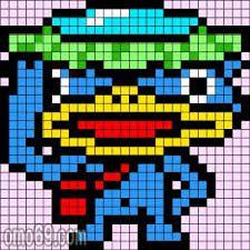 pixel art yokai watch