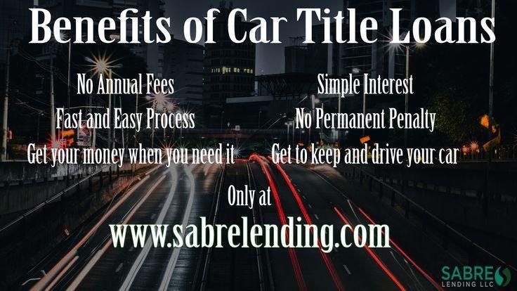 Car Title Loan California Sabre Lending Auto Title Loans