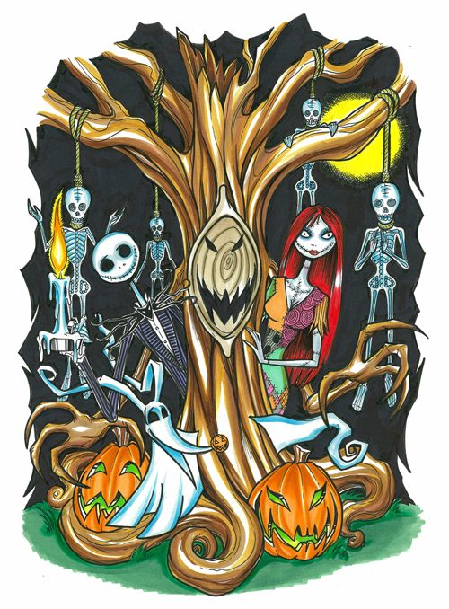 Nightmare Before Christmas by ~DavidKWong on deviantART