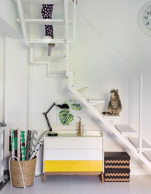 Choose small storage for awkward corners