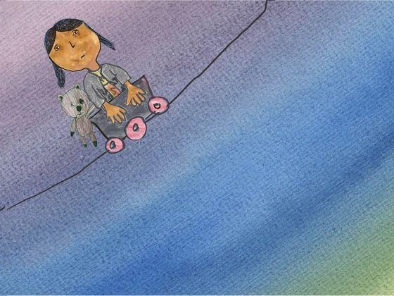 SPLIT ... a film for (and by) kids of divorce by Ellen Bruno, via Kickstarter.