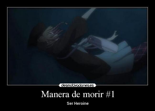 carteles amnesia morir heroine anime amnesia ikki ruta espada desmotivaciones