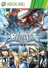 Xbox 360 --- BLAZBLUE CONTINUUM SHIFT - Complete Game w/Manual - Flawless Disc!