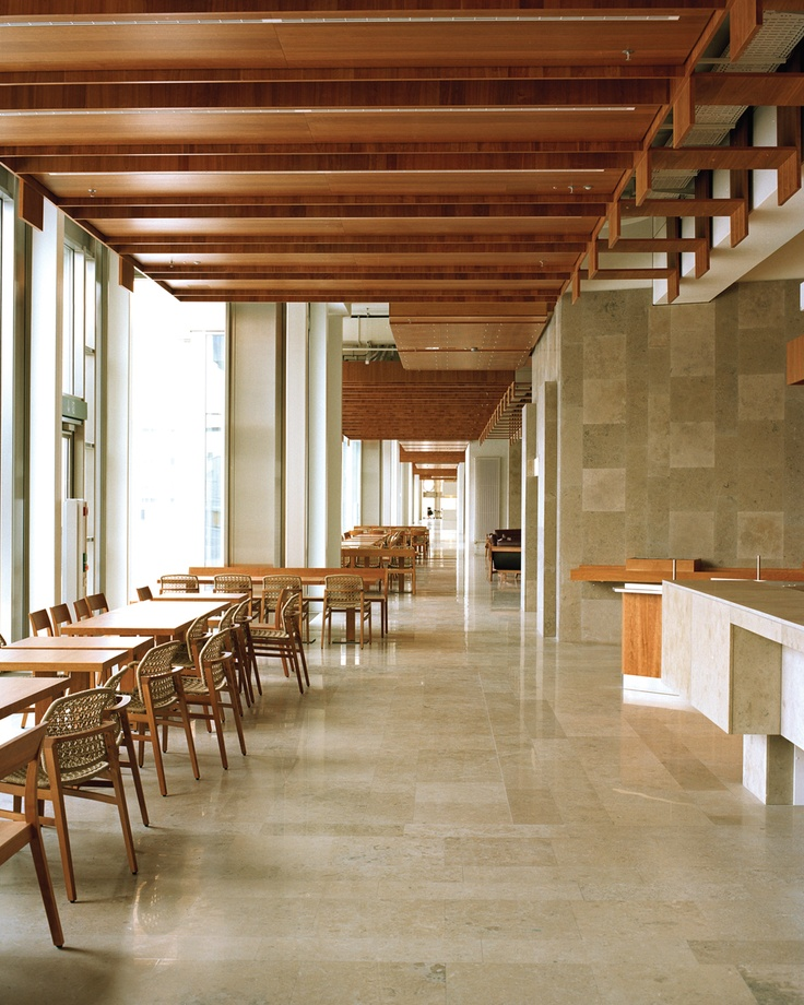 Synthes headquarters, Solothurn, Switzerland by Märkli Architekt. Photo: Caroline Palla