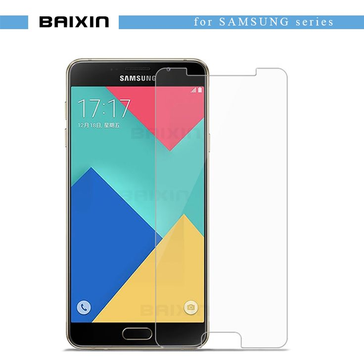 Tempered Glass for Samsung Galaxy A3 A5 A7 2016 High Transparent Screen Protector For Samsung J1 J5 J7 S5 S6 S7 Protective film -- Click the VISIT button to view the details