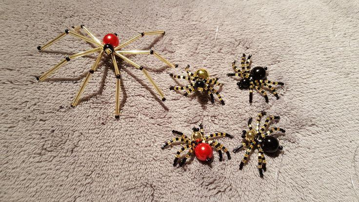 Pavoučci z korálků