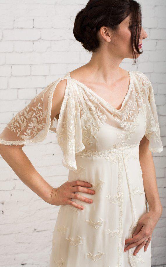 Casual Wedding Dress Simple Wedding Dress Rustic Wedding Dress