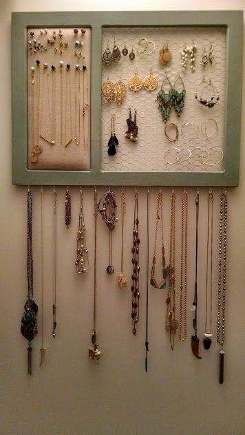 Best 25 Diy Jewelry Organizer Ideas On Pinterest Diy