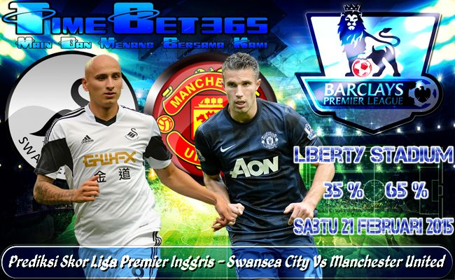 Prediksi-Skor-Liga-Premier-Inggris-Swansea-City-Vs-Manchester-United