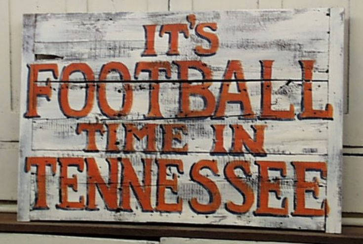 It's Football Time in Tennessee