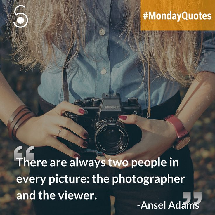 ❝There are always two people in every picture: the Photographer and the Viewer❞⠀ -Ansel Adams