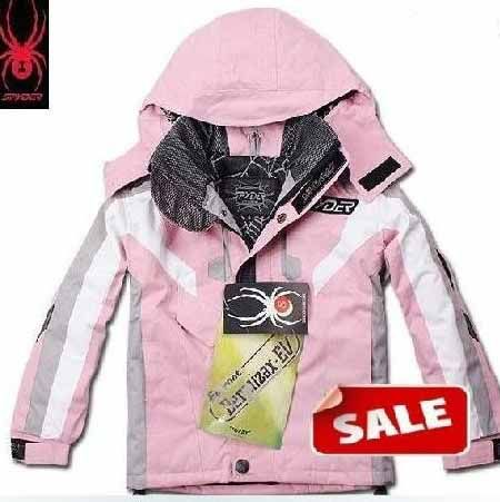 Spyder Kids Ski Wear Light Pink
