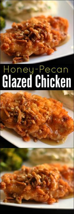 This Honey-Pecan Glazed Chicken instantly became a family favorite! Quite honestly, it's the best chicken I have ever put in my mouth!