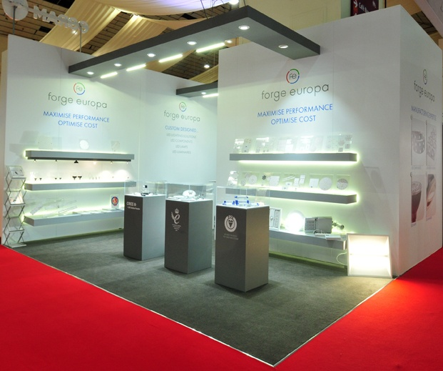 Forge Europa Exhibition Stand @ LuxLive 2012 - Sovereign Exhibitions