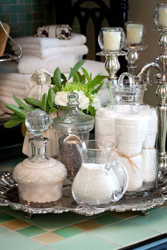 Best Silver Bathroom Ideas On Pinterest Bathroom Vanity - Spa bathroom rugs for bathroom decorating ideas