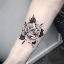 Image result for beauty and the beast rose tattoo on wrist