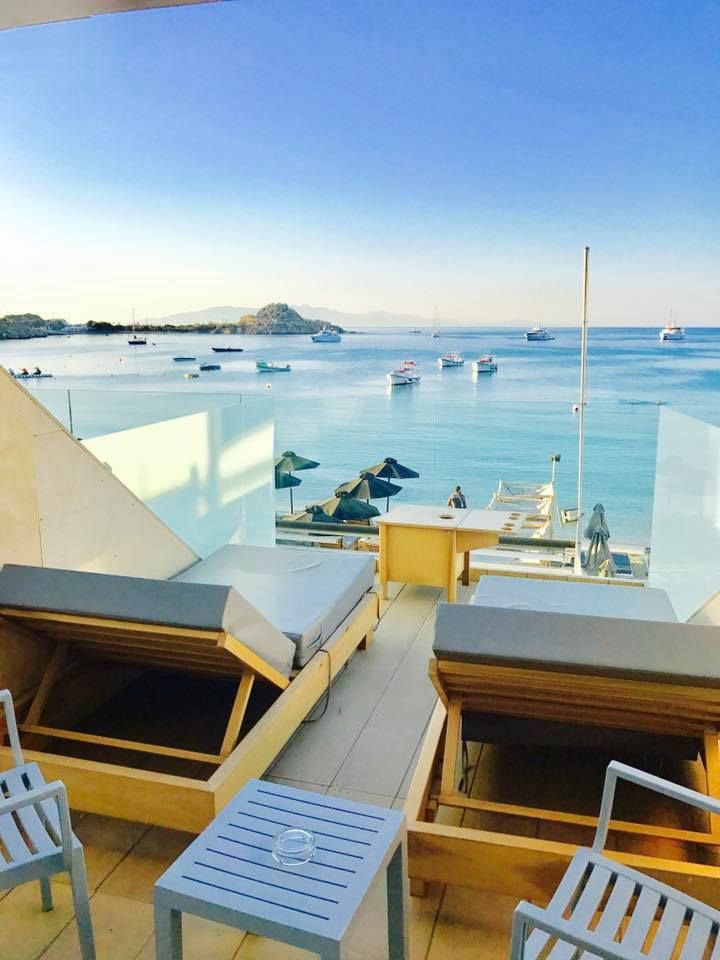 August may be over but the party is still going strong in #Mykonos and the beach of Platys Gialos! Join us and stay at the exquisite 4* Mykonos Kosmoplaz!