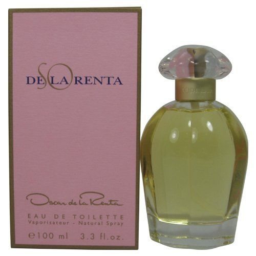 So De La Renta By Oscar De La Renta For Women. Eau De Toilette Spray 3.3 Ounces by Oscar de la Renta. $25.92. This item is not for sale in Catalina Island. Packaging for this product may vary from that shown in the image above. Introduced in 1997. Fragrance notes: fruits and exotic woods, with tones of gardenia and vanilla. Recommended use: daytime.When applying any fragrance please consider that there are several factors which can affect the natural smell of your skin ...