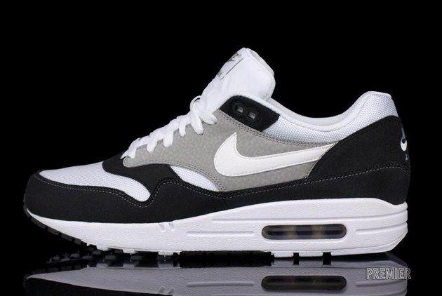 Nike Air Max 1 – Black/White-Grey