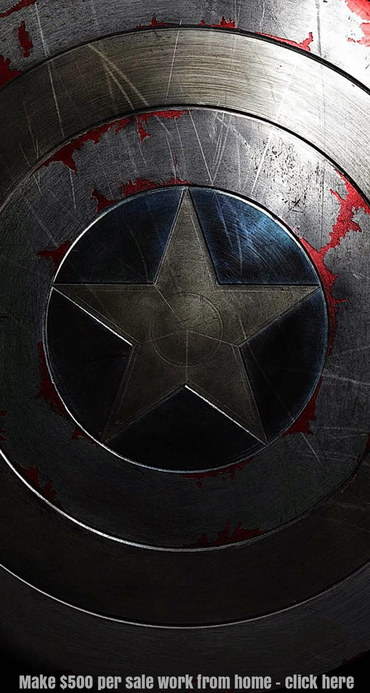 Captain America shield iphone wallpaper background