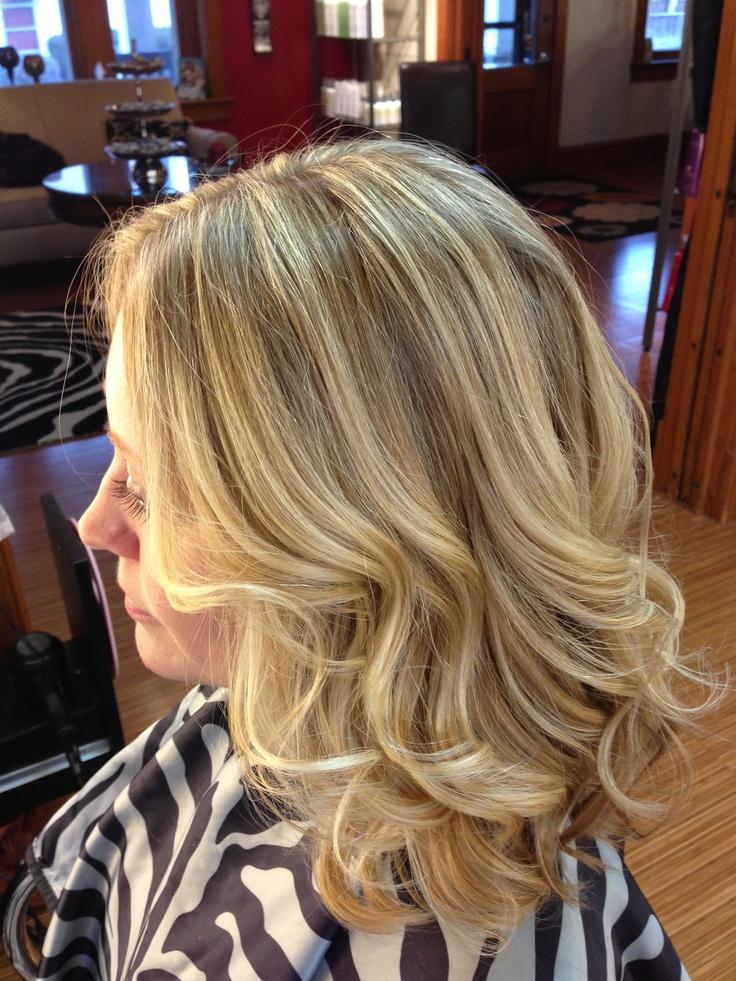 Beautiful Blonde Highlights Hair And Beauty Pinterest