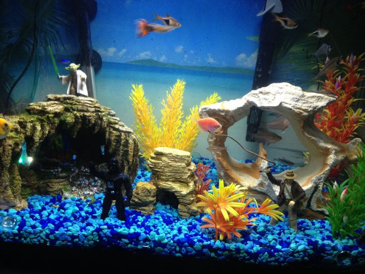 17 best ideas about fish tank themes on pinterest for How to make ice in a fish tank