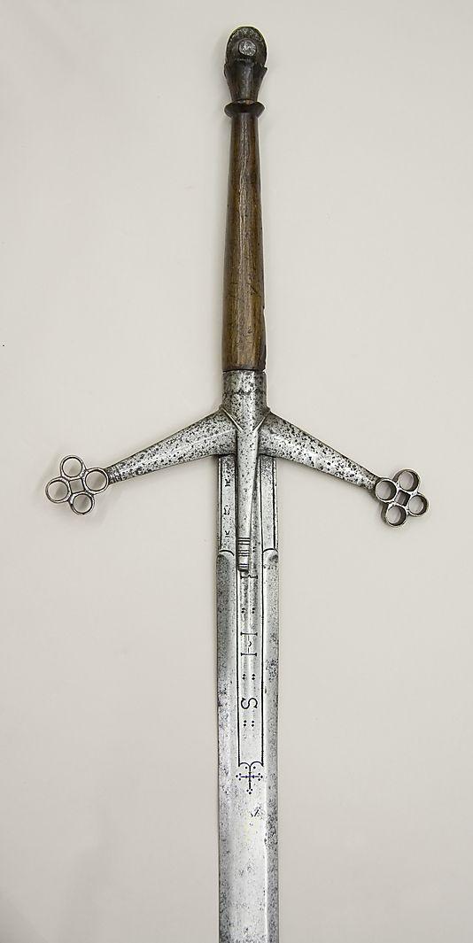 the claidheamh mòr or great sword - Scottish Claymore, circa 1610-1620 (The Metropolitan Museum of Art, New York):