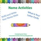 Great for the beginning of school when students are learning the letters of their name!  Use the Build and Write Your Name mats to help students to...