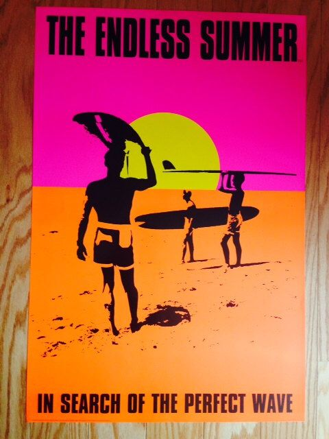 Endless Summer Poster 24 x 36 Bruce Brown by PosterAmerica on Etsy https://www.etsy.com/listing/230271110/endless-summer-poster-24-x-36-bruce