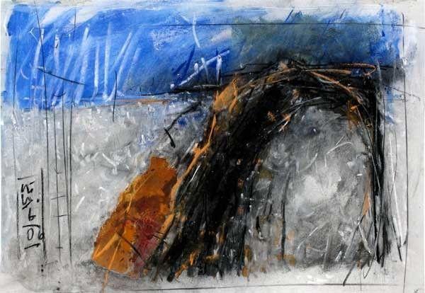 Landschaftszeichnungen - Pigmentprints Günter Ludwig