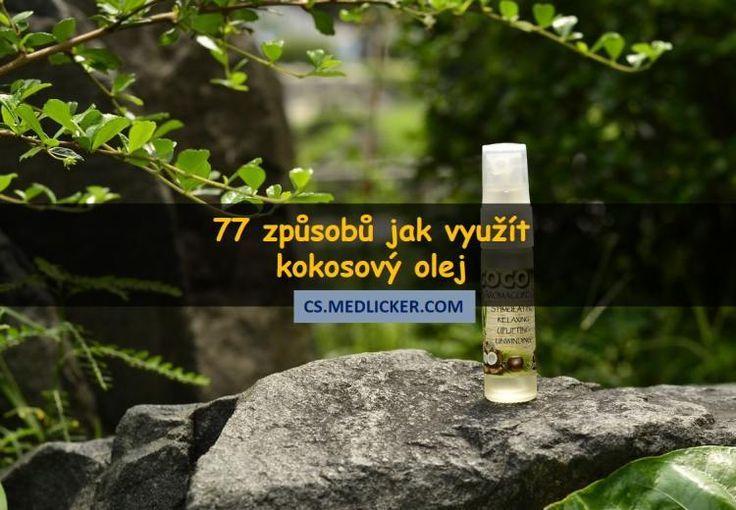 77 možností využití kokosového oleje